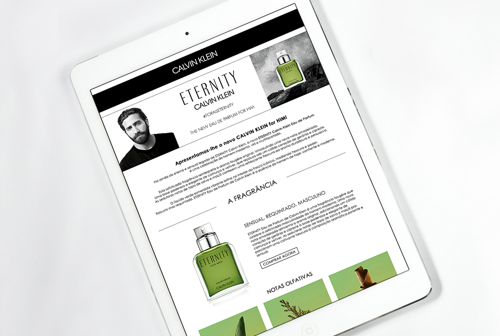 Banners e-Commerce Coty Luxury